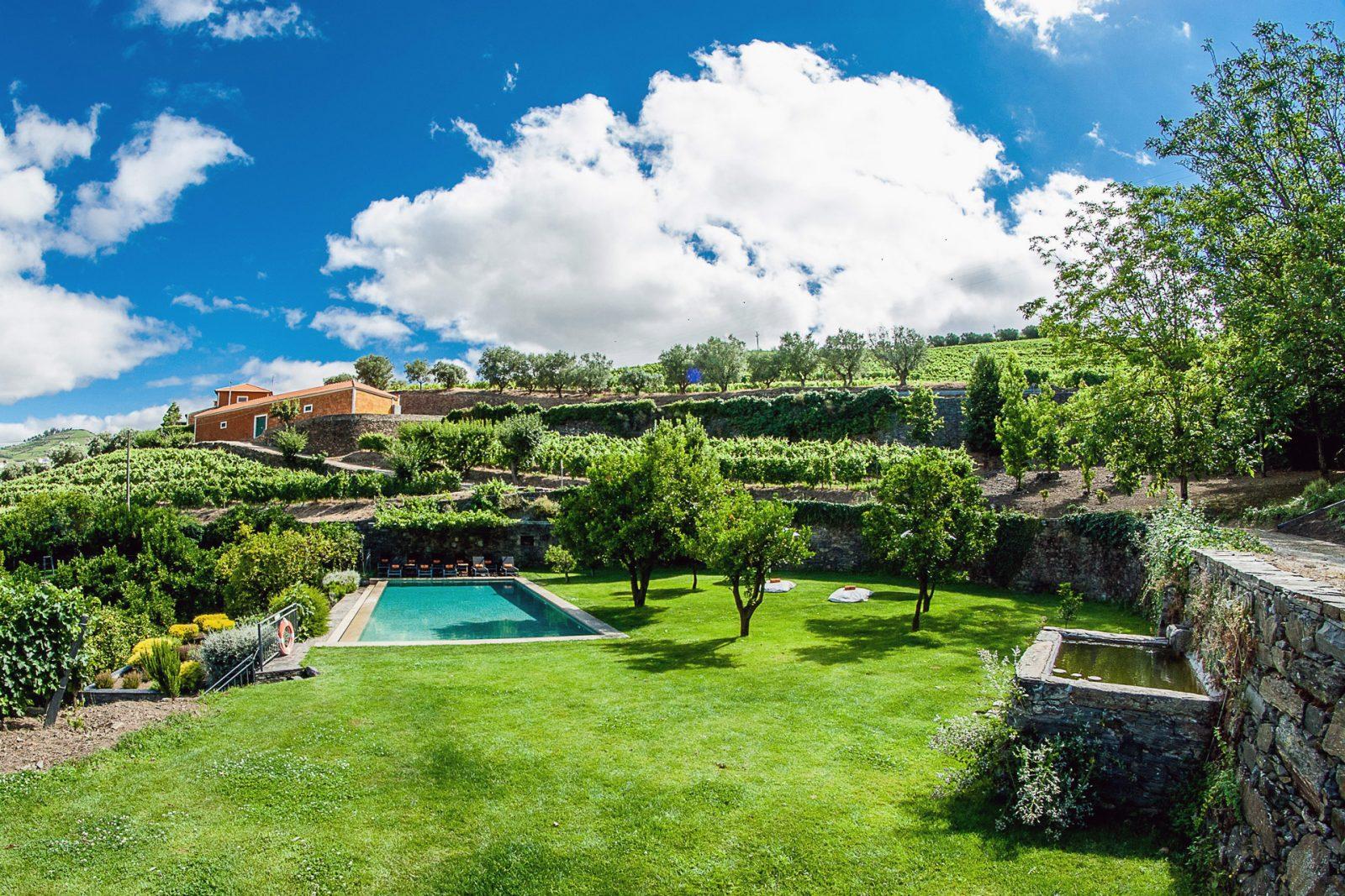A piscina da Quinta do Vallado. © Jose Campos